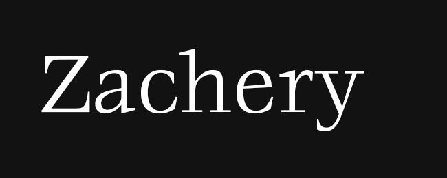 Zachery