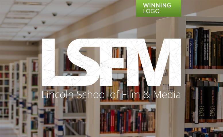 WINNING LOGO: Lincoln School of Film & Media (UK)